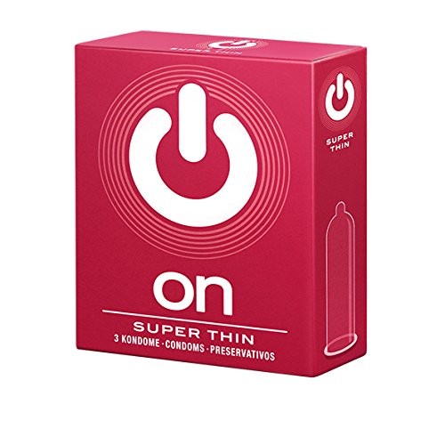 On! Super Thin 3 dünne Kondome für mehr Gefühl - 54mm Breite