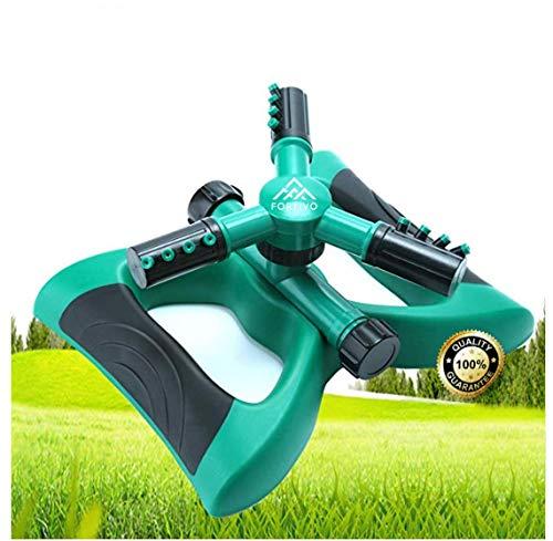 Lawn Sprinkler Garden Sprinkler -2020 Updated, Automatic 360...