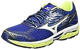 Mizuno Wave Paradox, Zapatillas de Running Hombre, Multicolor (Bluedeptths/White/safetyyellow), 40.5 EU