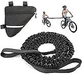 Cuerda de remolque para niños, para padres e hijos, correa elástica para seguir con tu compatible con cualquier bicicleta