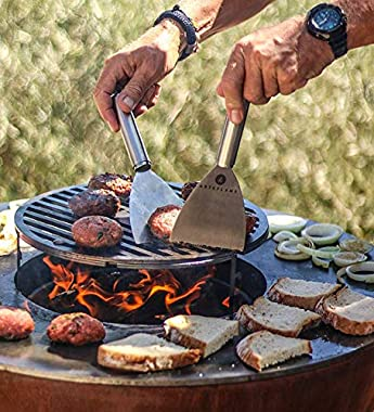 """ARTEFLAME One30 30"""" Grill. Combination Charcoal Grill, Griddle, Wood Fire Pit and Art. Fantastic for Entertaining. No Mai"""
