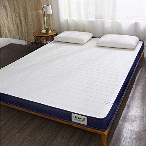 POETRY Thicken 10 cm tatami vloermat ademend futon matras latex matras topper opvouwbare vloermat voor familie studenten - een 150x200cm (59x79inch)
