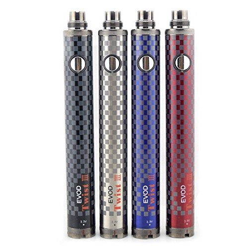 EVOD Twist 3 III Vaporizer Mod Full Vape Kit Verdampfer Battery Box