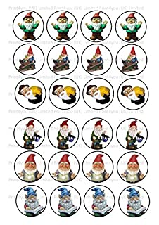 24 Cake Toppers 4cm Icing