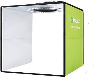 PULUZ Lightbox Mini Photo Studio Light Box with 6 color Backdrops Photo Shooting Tent Kit 80Pcs LED Light Room Foldable Ph...