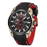 Reloj - Megir - Para Hombre. - TONGTIME-MG2144-GOLD