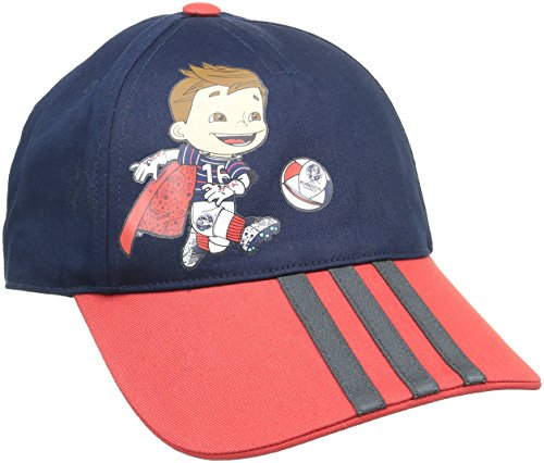 adidas Kinder Kappe Victor Mascot, Collegiate Navy/Vivid Red, OSFY