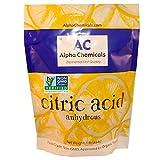 Non-GMO Project Verified Citric Acid - 1 Pound  Organic