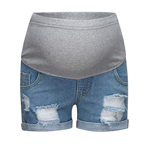 Mujeres Relajadas De Chica De Moda Bermudas Mezclilla Elegante Pantalones Moda Completi Cortos De Mezclilla Pantalones Vaqueros Elasticos Para Mujer Pantalones De Verano Pantalones Hasta La Rodilla Pantalones Cortos Mujer