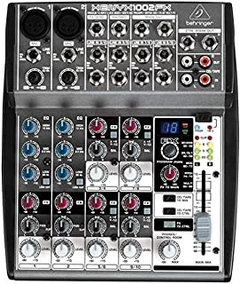 Behringer XENYX 1002Fx - 2 Mono, 2 Bus Input Mixer with Fx