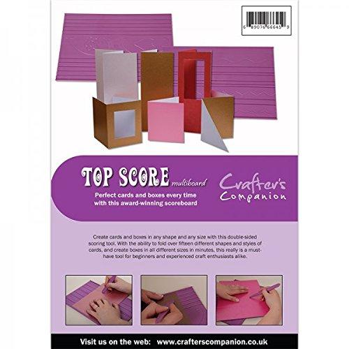 Crafter's Companion 66645 Top Puntuación Multi Board Scoring Herramienta-Morado, Talla