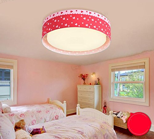 Lily's-uk Love Sweet Love Maison pour enfants Luminaire plafonnier Creative Cartoon Cute LED Eye Girl Princess Girl Bedroom Lights