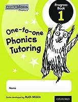 Read Write Inc. Phonics: One-to-one Phonics Tutoring Progress Book 1 Pack of 5