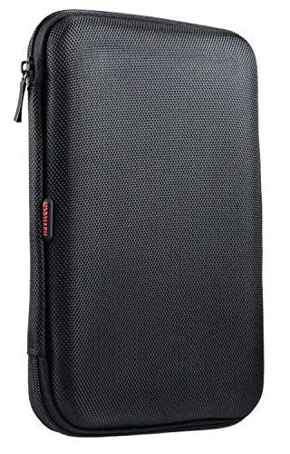 Navitech Black Hard Carry Case Compatible with The AWESAFE 9 inch Sat Nav