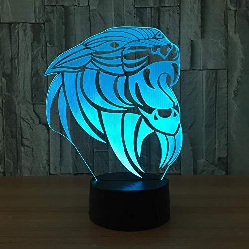 Nachtlampje van Aap LED 3D kleurrijke USB-notenschakelaar, LED-sfeerlicht met 7 kleurveranderingen, interieurverlichting