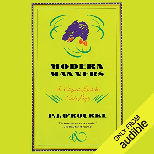 Modern Manners audiobook cover art
