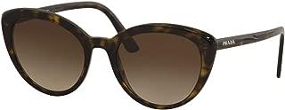 Prada Women's PR 02VS Ultravox Cat Eye Sunglasses