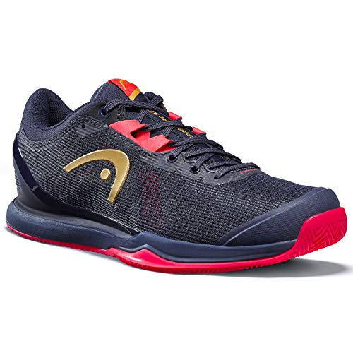 Head Sprint Pro 3.0 Clay Women Zapatillas de Tenis, Mujeres, Azul/Neon Fucsia, 37 EU