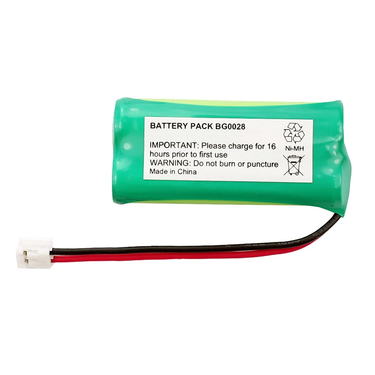 Fenzer Rechargeable Cordless Phone Battery for Radio Shack 23-546 23-930 Cordless Telephone Battery Replacement Pack