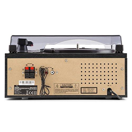 Auna Blackwood 2020 Edition Tocadiscos estéreo: Amazon.es: Electrónica