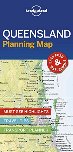 Lonely Planet Queensland Planning Map (Planning Maps)