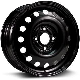 RTX, Steel Rim, New Aftermarket Wheel, 15X6, 4X108, 63.5, 48, black finish X40831