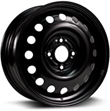 RTX, Steel Rim, New Aftermarket Wheel, 15X6, 4X108, 63.5, 48, black finish X40831