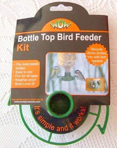 Comedero para pájaros kit con botella y tapón