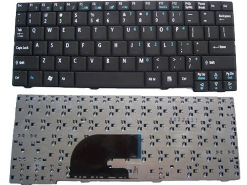 New Laptop Keyboard for Acer Aspire One ZG5 ZG6 ZA8 ZG8 KAV10...