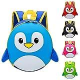 YWLINK Mochila Escolar Ligera Bolsa De Dibujos Animados Mochila NiñOs PequeñOs De Edad Preescolar,Lindo Bolsa Animal De La Escuela Para Los NiñOs O NiñAs,De Escolar Del PingüIno Lindo Mochila