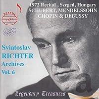 Sviatoslav Richter Archives 6 1972 Recital Hungary