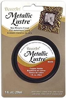 DecoArt Metallic Lustre Wax, 1-Ounce, Copper Kettle, 1 oz