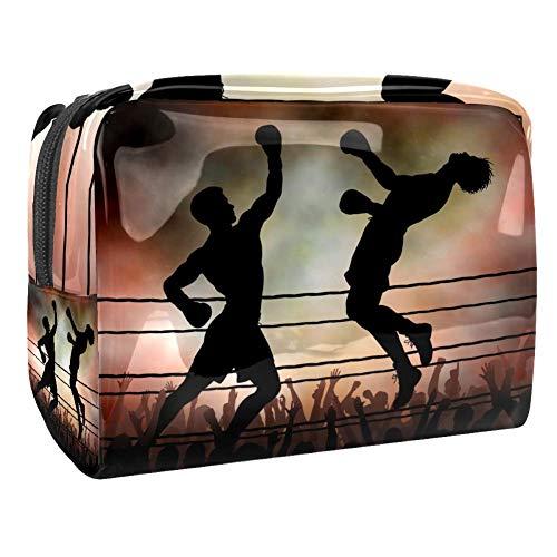 TIZORAX Lot de 2 boxers en PVC pour cosmétiques