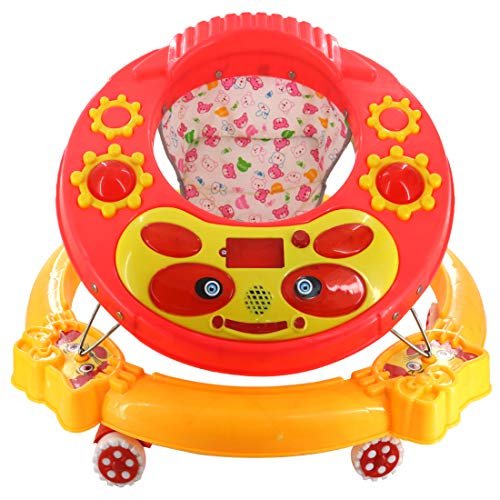 Baby Walker for Activity New Model Music and Light for Girls/Boy Age - 6 to 18 Months