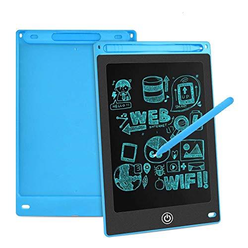 Aigoss LCD Schreibtafel 8,5 Zoll Elektronische Schreibtabletts Grafiktabletts Löschbare Zeichnung Graffiti Board Notepad mit Anti-Clearance Funktion und Stift Kinder Spielzeug Geschenk - Blau