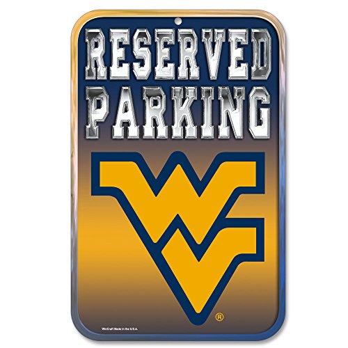 Wincraft Snack-Schale NCAA West Virginia Universität 36631081Kunststoff Schild, 11x 17, Schwarz