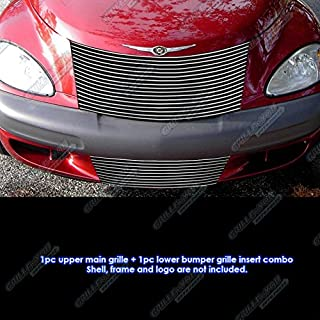 APS Compatible with 2000-2005 Chrysler PT Cruiser Billet Grille Grill Combo Insert R87729A