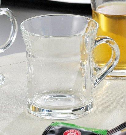 6x Montana Teeglas JAVA Inhalt 0,35 l Glas, Thermobecher