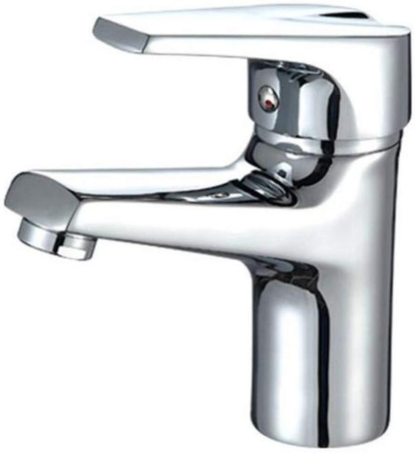 Bathroom Faucet Copper Hot and Cold Kitchen Sink Taps Kitchen Faucet Electroplated Copper Basin