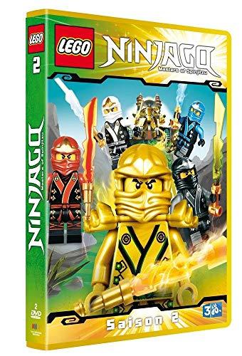 LEGO Ninjago, Les maîtres du Spinjitzu - Saison 2 [Francia] [DVD]