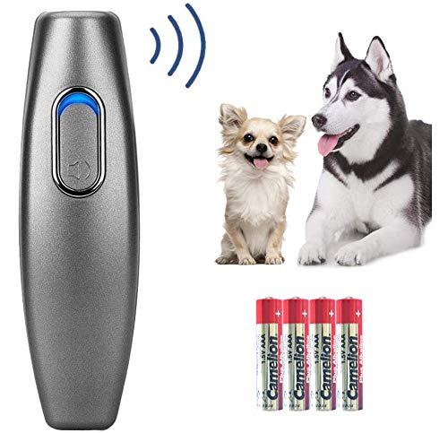 CYWEB Ultraschall Hunde Repeller und Trainer Gerät Anti Bellen Stop Rinde Handheld Hunde Trainingsgerät Anti-Bell Ultraschall Gerät für Hunde Bellkontrolle sanft sicher