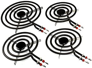 Supplying Demand SP22YA WB30X253 WB30X254 4 Burner Set 3 6-Inch 1 8-Inch