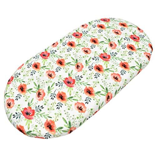TOYANDONA Baby Kinderzimmer Bettwäsche Bettwäsche Blume Neugeborenen Kinderbett Blatt Blumen Bettlaken Set für Standard Baby Oder Kleinkind Matratze Weiche Sichere Babys Blütenblatt Gelb