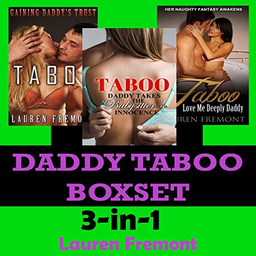 Daddy Taboo Boxset audiobook cover art