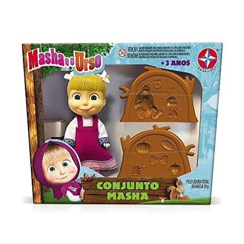 Conjunto Masha E O Urso, Brinquedos Estrela, Multicor
