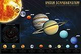 1art1 Das Sonnensystem Poster - Unser Sonnensystem für