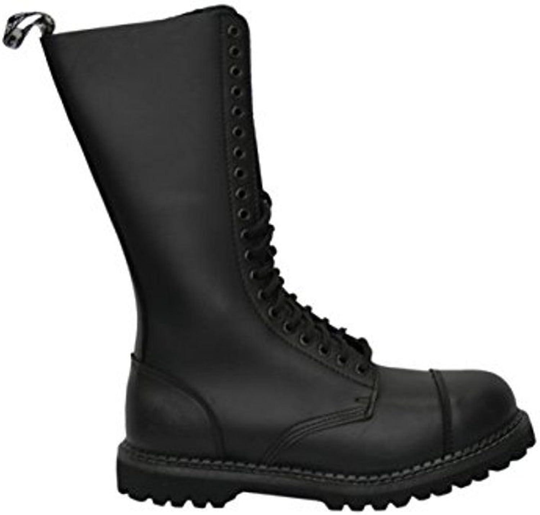 Grinders CS Derby Hawk Hawk Hawk King svart 20 Hole män Mina damer Safety Cap Steel Toe läder stövlar  bästa priser och färskaste stilar