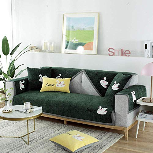 HYRGLIZI Funda para sofá seccional para niños, decoración del hogar, Funda para sofá de Esquina de Madera Maciza, Fundas para sofá de 2/3/4 plazas para Patio, Funda para sofá en Forma de L, sofá secc
