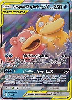 Slowpoke & Psyduck Tag Team GX - 35/236 - Ultra Rare - Unified Minds