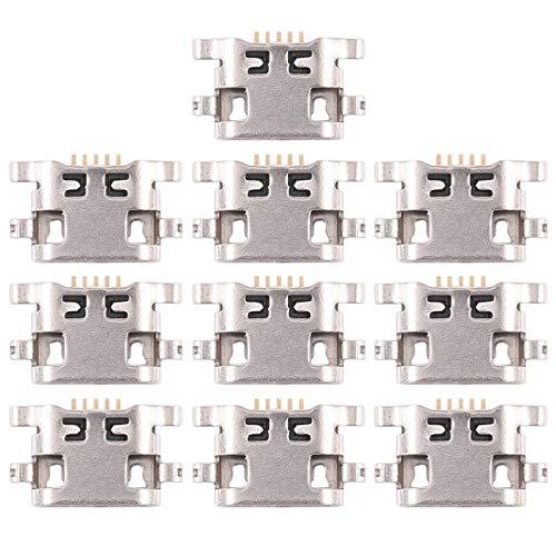 Dmtrab Reapir Spare Part 10 PCS Puerto de Carga Conector for Huawei G7 Plus Partes separadas